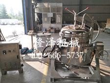 电磁浸糖锅_浸糖锅电磁加热器_隆泽机械浸糖锅