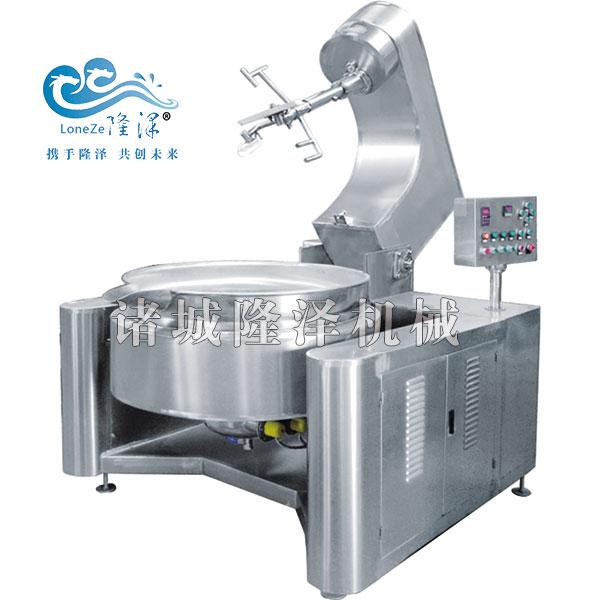 电磁炒锅 - 古方红糖熬制设备