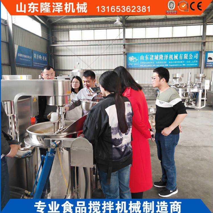 自动炒糖化糖机器设备_炒焦糖色专用炒锅