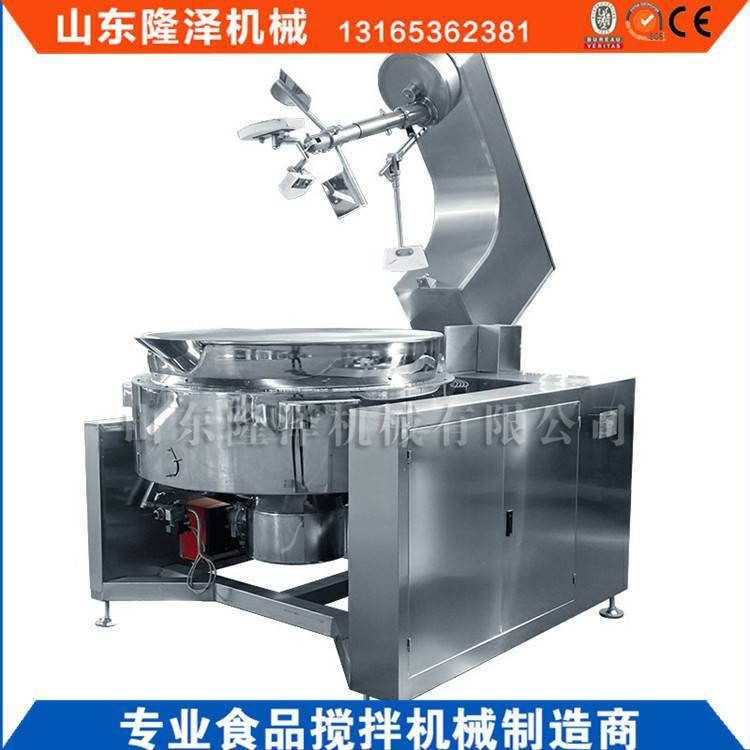 炒糖化糖机器设备_电磁夹层炒锅