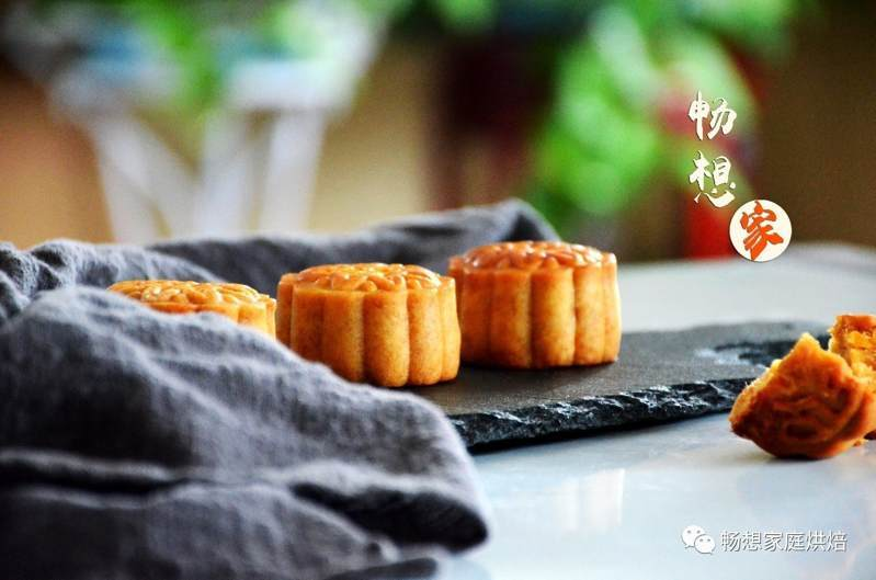 绿豆杏仁肉松馅月饼_绿豆杏仁肉松馅月饼做法_绿豆杏仁肉松馅月饼工艺